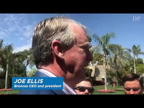 Denver Broncos president Joe Ellis on Pat Bowlen