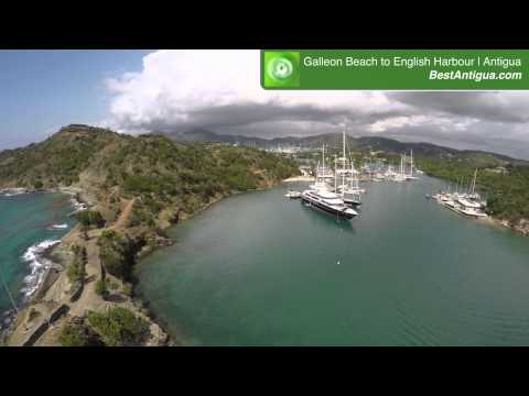 Galleon Beach to English Harbour Aerial Filming