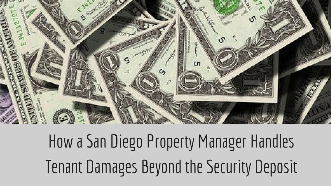 How a San Diego Property Manager Handles Tenant