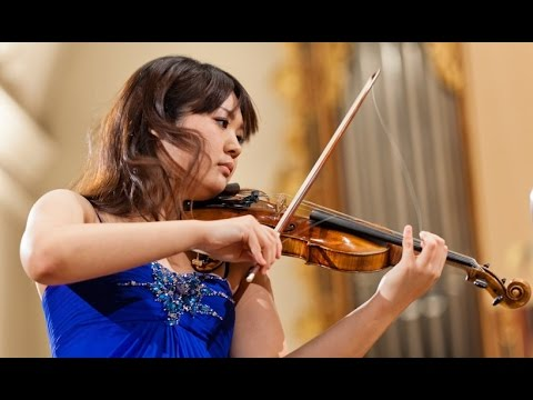 Miki Kobayashi plays at 14th International H. Wieniawski Violin Competition (stage 4)
