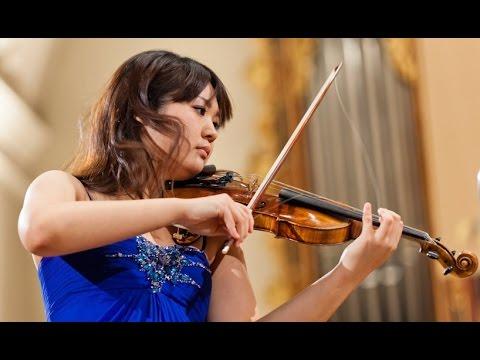 Miki Kobayashi plays at 14th International H. Wieniawski Violin Competition (stage 4)