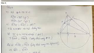 đáp án đề thi tuyển sinh vào lớp 10 môn toán tỉnh bắc giang năm học 2018 - 2019