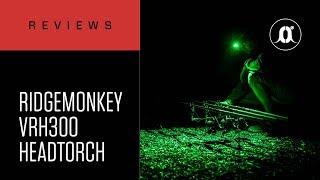 видео Обзор карпового налобного фонаря Ridge Monkey VRH300