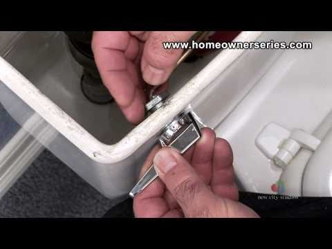 How To Fix A Toilet - Toilet Handle Replacement