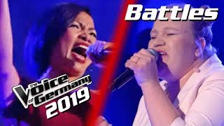 Bishop Briggs - River (Tori Roe vs. Saenab Sahabuddin) | The Voice of Germany 2019 | Battles