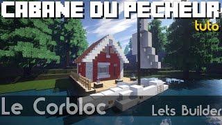 Minecraft - Tuto: Cabane du pêcheur