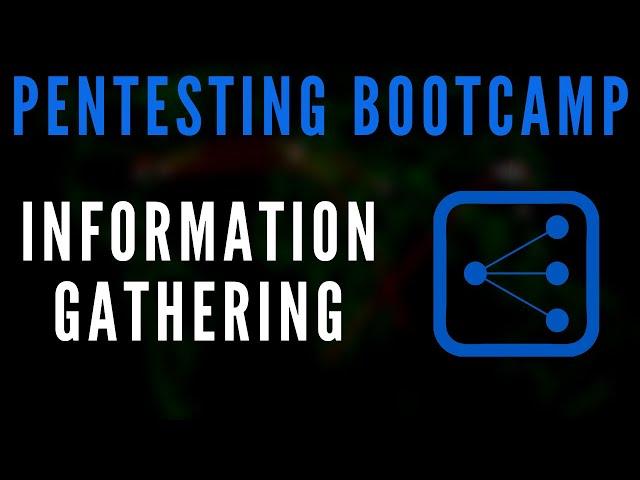 Penetration Testing Bootcamp - Information Gathering