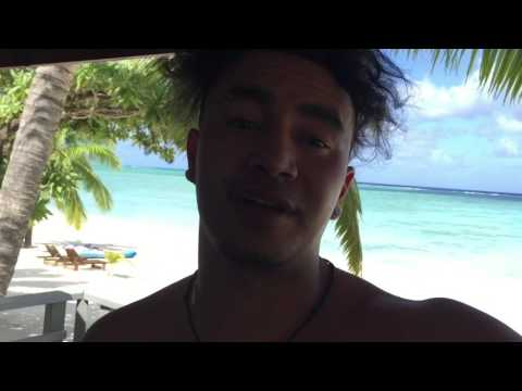 Showing The View Around That We Stayed In On Sea Side In Aitutaki | Heaven On Earth Paradise| 2016