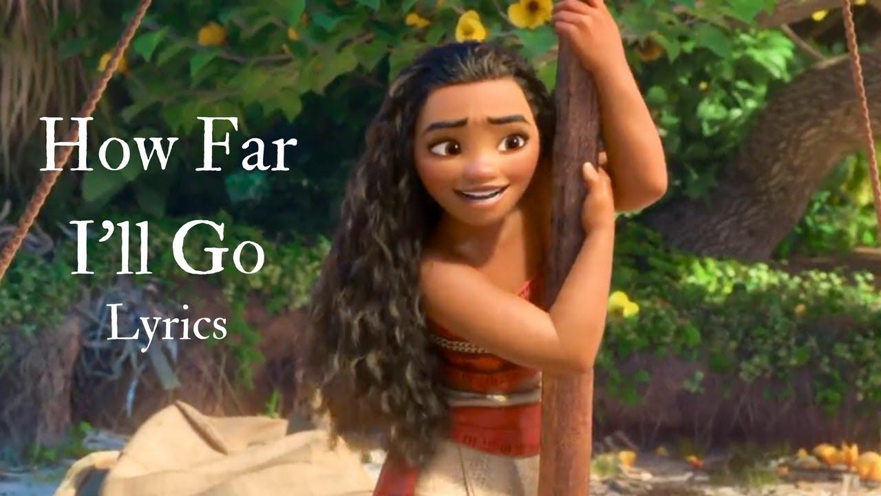 Download How Far I'll Go (Lyrics) - Moana/Vaiana