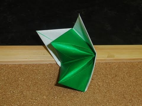 Origami Hand Puppet-Tutorial