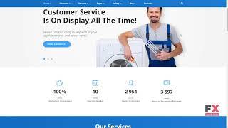 Home Repairs Responsive Website Template TMT Reagan Prosper