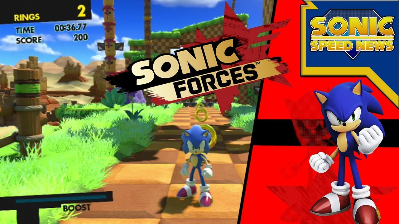 Sonic Forces Ps4 Demo English Lost Valley Youtube