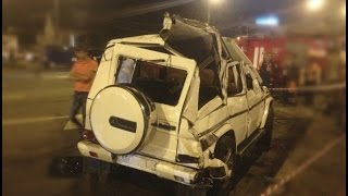 Mercedes-Benz Gelandewagen (G-Class) Crash | Аварии Мерседес Гелендваген (Гелик) pt.2