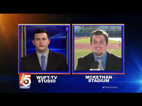 WUFT News at Six Sports Live Shot 3/14/14