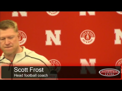 Husker athletics press conference