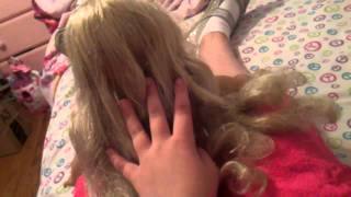 Ag doll Caroline restoration part 2(hair) Thumbnail