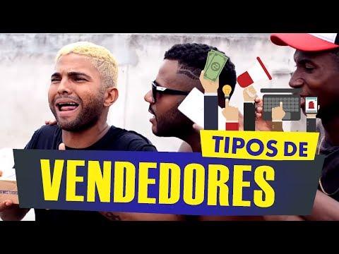 TIPOS DE VENDEDORES - Oxe Que Viaje Humor Baiano