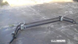 видео Задний и двойной передний стабилизатор на ВАЗ классике