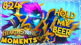 80 HEALTH? NO PROBLEM | Hearthstone Daily Moments Ep.824