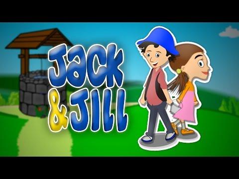 Jack And Jill | Nursery Rhyme With Lyrics | Popular English Rhymes For Kids