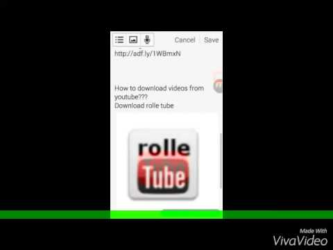 rolltube android