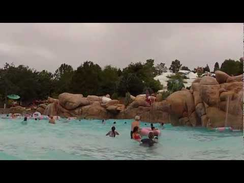 Disney's Blizzard Beach Melt-Away Bay POV Walt Disney World