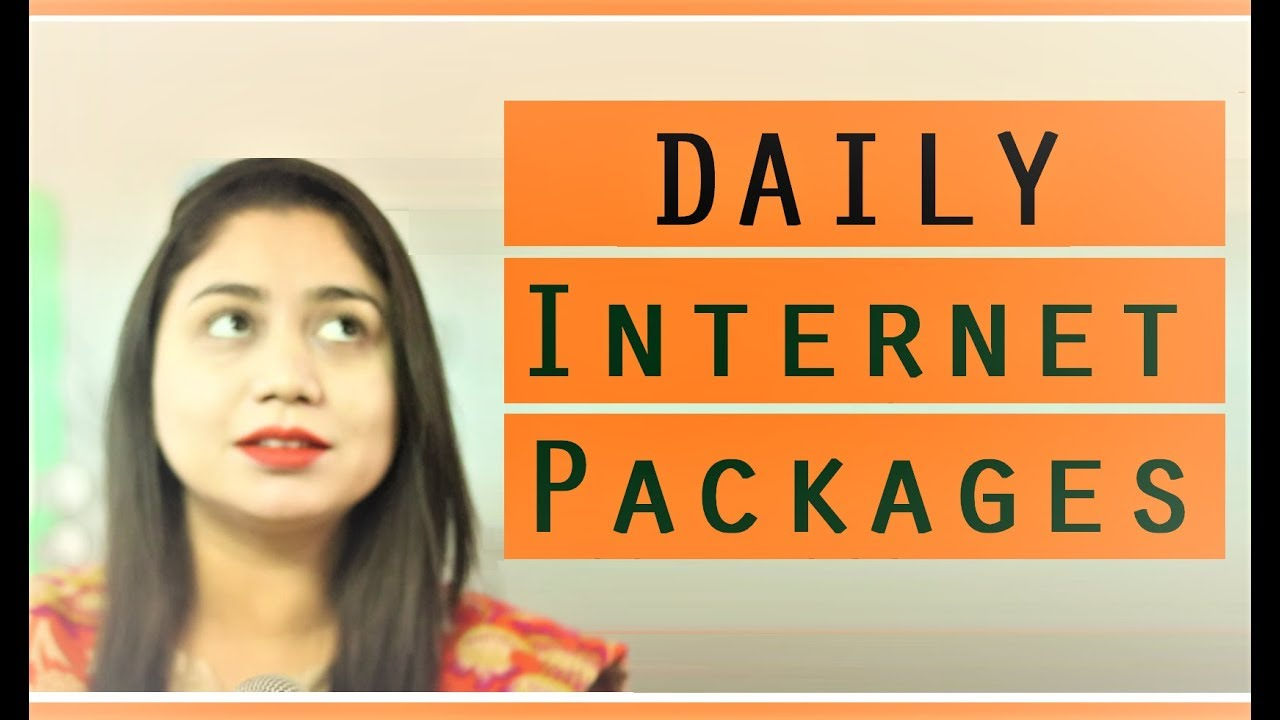 daily internet package of zong telenor ufone jazz and