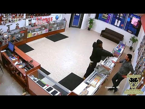 Store Owner Takes the Fight to Robber...Twice! | Active Self