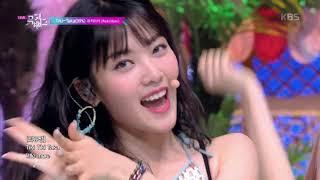 Tiki-Taka(99%) - 위키미키(Weki Meki) [뮤직뱅크 Music Bank] 20190816