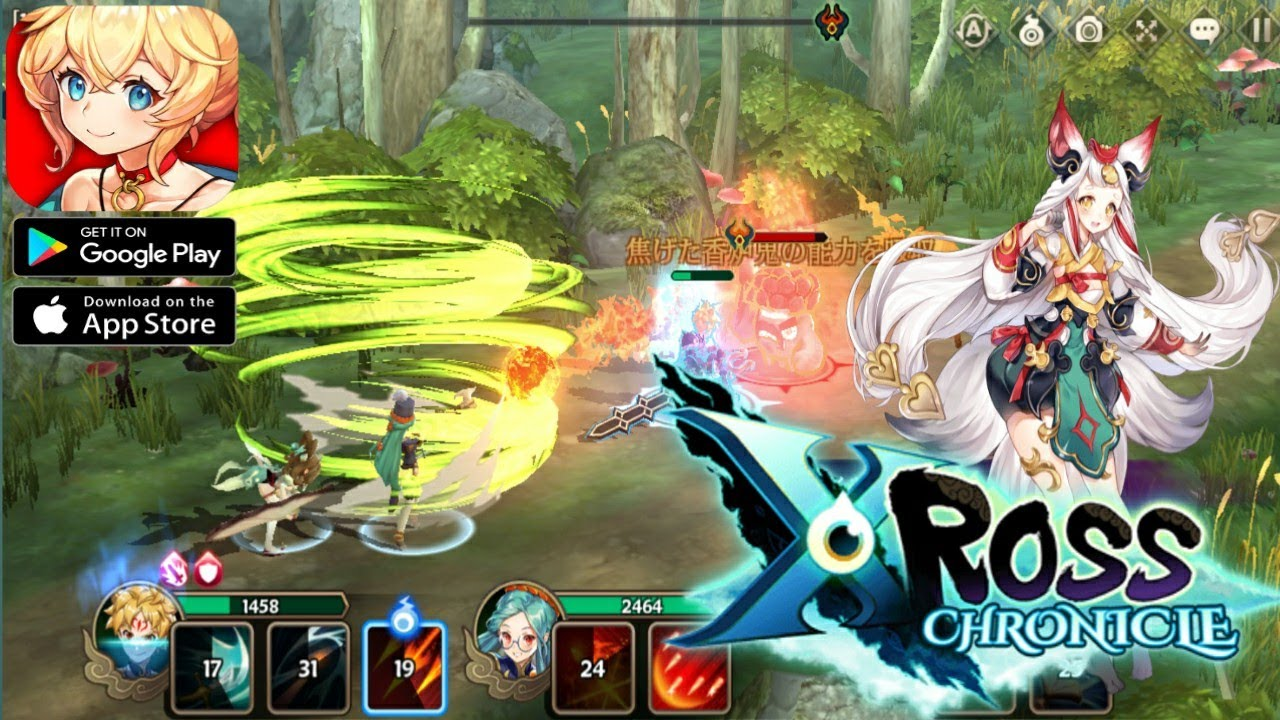 Xross Chronicle - Android RPG Gameplay - YouTube