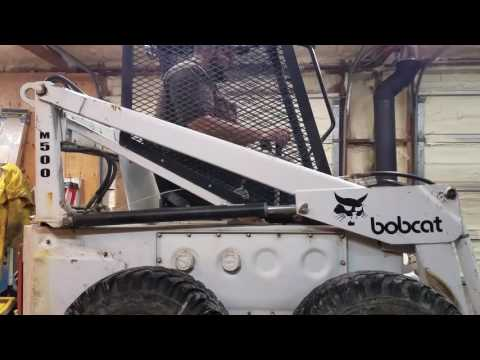 Melroe Bobcat M-500 engine repower - SmokStak