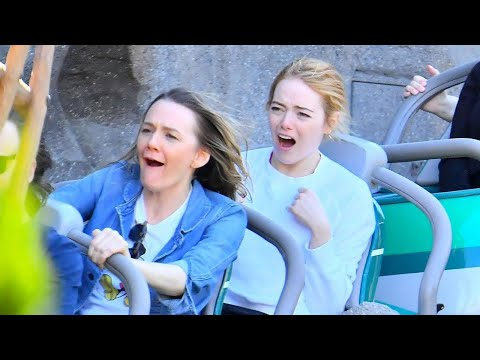Emma Stone Enjoys a FunFilled Day at Disneyland  See the Pics!