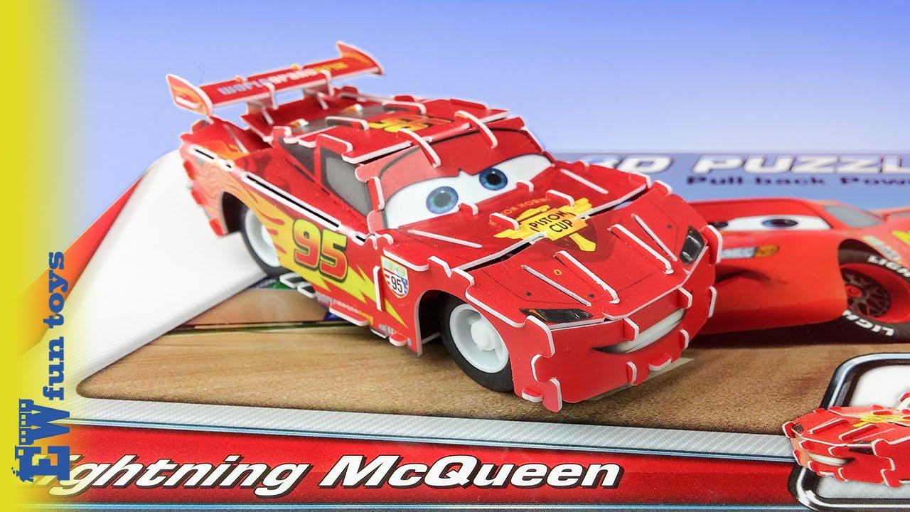 lightning mcqueen 3d puzzle disney pixar cars new 2016. Black Bedroom Furniture Sets. Home Design Ideas