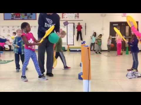 Teaching Presentation Westside Primary Volleying and Striking Lesson