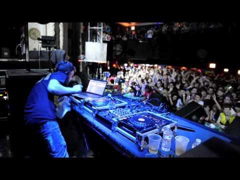 Rusko @ The Metro Chicago 2010 Major Lazer Tour