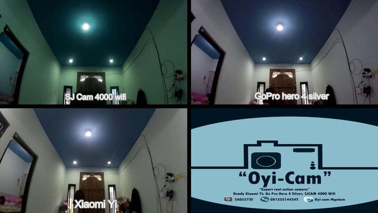 Xiaomi yi vs gopro hero action camera comparison cameralah com gopro - Perbandingan Xiaomi Yi Gopro Hero 4 Silver Sjcam 4000wifi