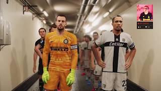 Gameplay Pronostico  Parma-inter  Serie A  Pes 2020 / Ps4 / 25-06-20