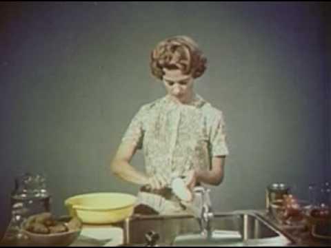 Radioactive Fallout On Food 1963