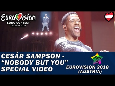 "Cesár Sampson - ""Nobody But You"" - Special Multicam video - Eurovision 2018 (Austria)"
