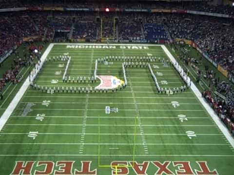Alamo Bowl-Michigan State University Spartan Marching Band Pregame Show