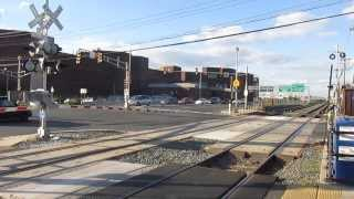 Two NJ Transit River Line Trains In Trenton