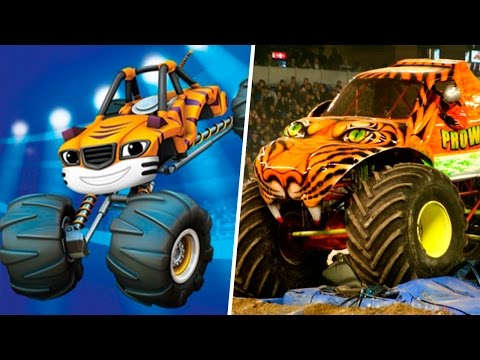 Thumbnail: Blaze and the Monster Machines in Real Life 2017