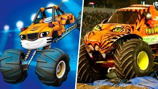 Blaze and the Monster Machines in Real Life 2017
