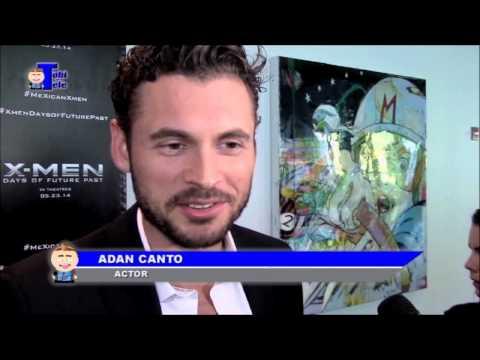 Adan Canto no leyó los 'comics' en su niñez