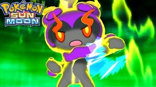 Pokémon Sun and Moon - All Shiny Exclusive Z-Moves!
