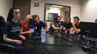 Ed the trailer guy calls The Expanse cast at LA Talk Radio live stream - #SaveTheExpanse