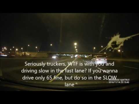 Truckers are assholes