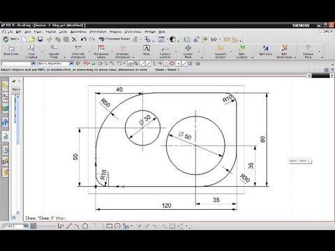 13 Kontur 2 Siemens Nx 8 Drafting Gaps In Dimensionlines