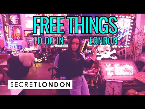 Amazing TOTALLY FREE Things To Do In London! | Secret London
