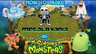 My Singing Monsters - MEGALOVANIA - Tutorial